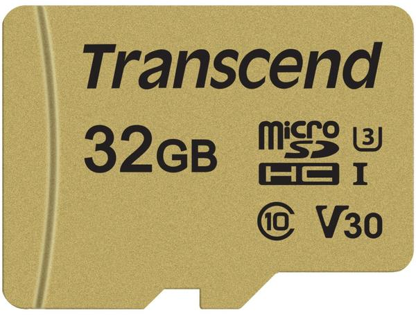 Transcend 500S microSDHC - 32GB