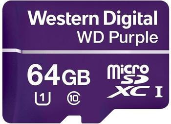Western Digital Purple microSDXC 64GB
