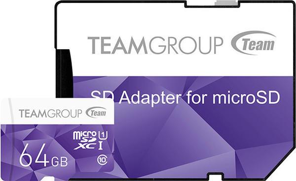 Team Color Card microSDXC 64GB UHS-I U1