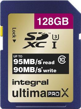 Integral SDXC Speicherkarte Klasse 10UHS-I 128 GB