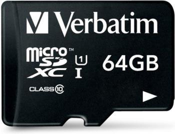 Verbatim Tablet U1 microSDXC 64GB (44060)