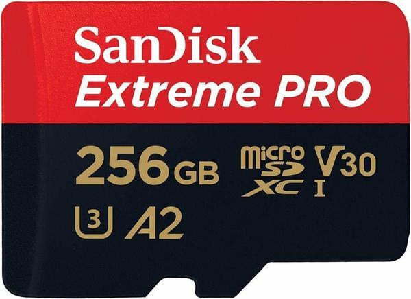SanDisk Extreme Pro A2 microSDXC 256GB