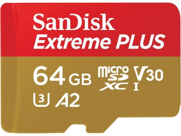 SanDisk EXTREME Plus A2 microSDXC 64GB