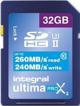 Integral UltimaPro X2 UHS-II V90 SDHC 32GB