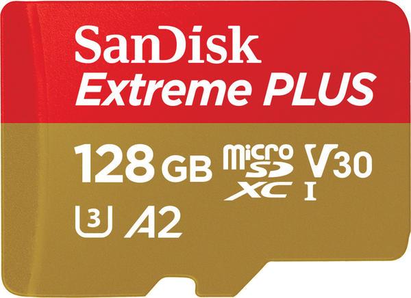 SanDisk EXTREME Plus A2 microSDXC 128GB