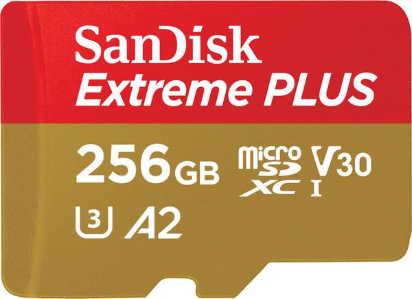 SanDisk EXTREME Plus A2 microSDXC 256GB