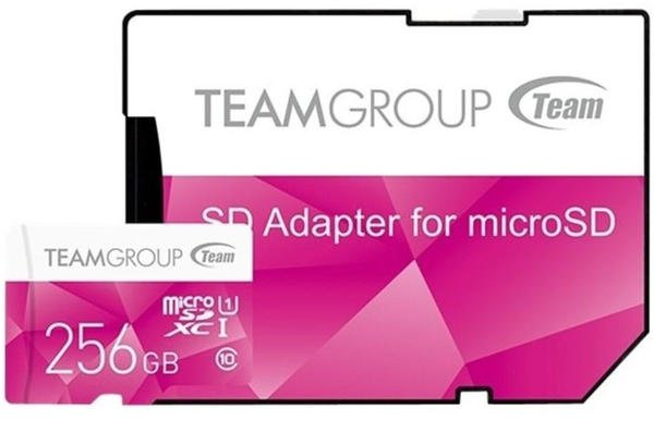 Team Color Card microSDXC 256GB UHS-I U1