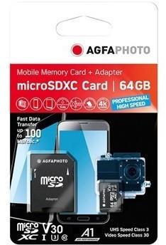 agfaphoto-microsdxc-uhs-i-64gb-prof-high-speed-u3-v30-a1