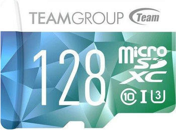 team-group-team-color-card-ii-flash-speicherkarte-sd-adapter-inbegriffen-128-gb-uhs-i-u3class10-microsdxc-uhs-i-blau-gruen