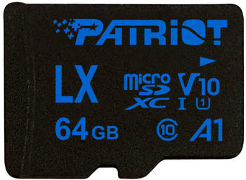 Patriot LX Series A1 V10 microSDXC 64GB