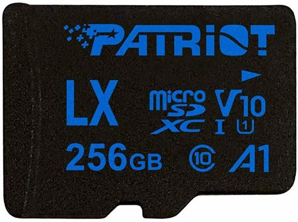 Patriot LX Series A1 V10 microSDXC 256GB