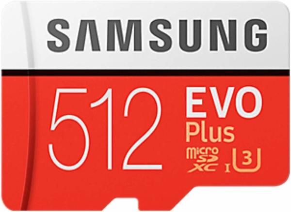 Samsung EVO Plus (2017) microSDXC 512GB