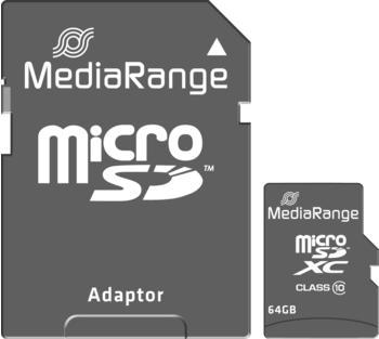 MediaRange Micro SDXC Speicherkarte Class 10