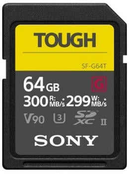 Sony SF-G TOUGH UHS-II 64GB