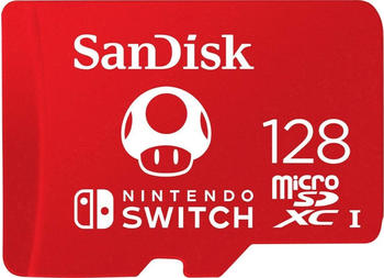 SanDisk microSDXC für Nintendo Switch 128GB