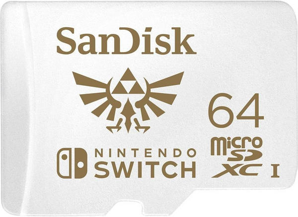 SanDisk microSDXC für Nintendo Switch 64GB