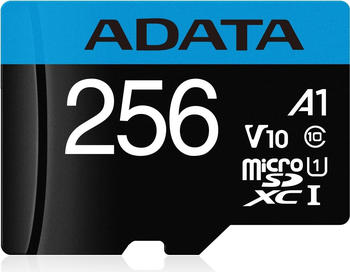 Adata Premier microSDXC UHS-I Class10 256GB (AUSDX256GUICL10A1-RA1)