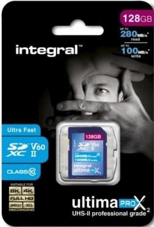 Integral UltimaPro X2 SDXC UHS-II V60 128GB