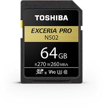 Toshiba Exceria Pro N502 SDXC 64GB