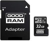 GoodRam microSDHC 32GB Class 10 UHS-I + SD-Adapter