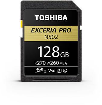 Toshiba Exceria Pro N502 SDXC 128GB