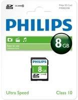 Philips SDHC 8GB Class 10 (FM08SD45B)