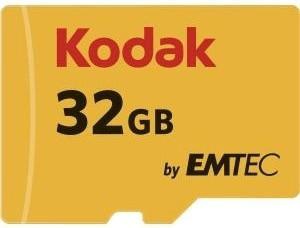 Kodak microSDHC UHS-I U3 32GB (EKMSDM32GHC10HPRK)