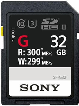 Sony SF-G UHS-II SDHC 32GB (SF-G32)