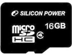 Silicon Power microSDHC 16GB Class 4