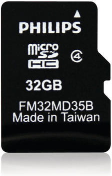 Philips microSDHC 32GB Class 4 (FM32MD35B/10)