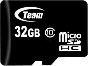 Team SDXC 32GB Class 10 UHS-I Card