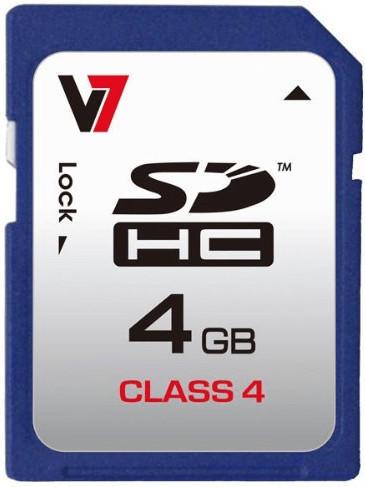 V7 SDHC 4GB Class 4 (VASDH4GCL4R-2E)