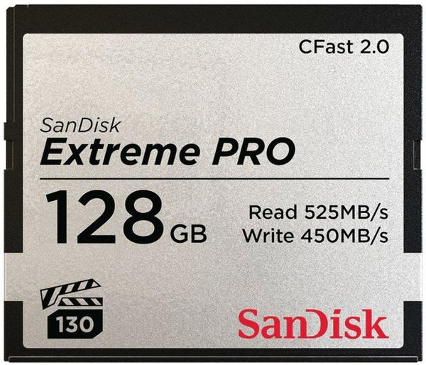 SanDisk Extreme Pro CFast 2.0 128 GB (SDCFSP-128G)