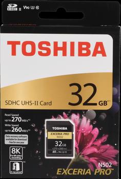 Toshiba Exceria Pro N502 SDHC 32GB