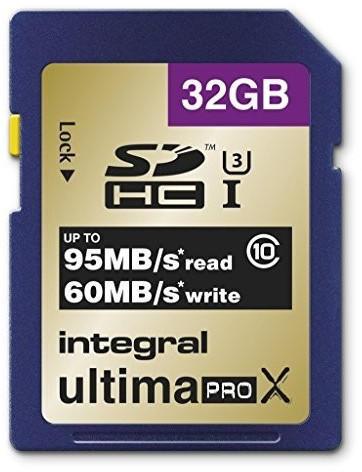 Integral UltimaPro X Gold UHS-I U3 SDHC 32GB