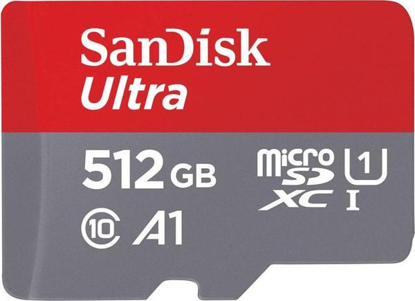 SanDisk Ultra A1 microSDXC 512GB (SDSQUAR-512G)