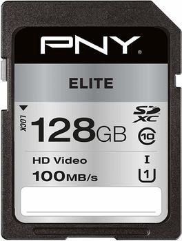 pny-elite-sdxc-karte-128-gb-class-10-uhs-i-u1-100-mb-s