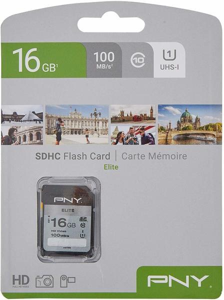 PNY Elite SDHC 16GB