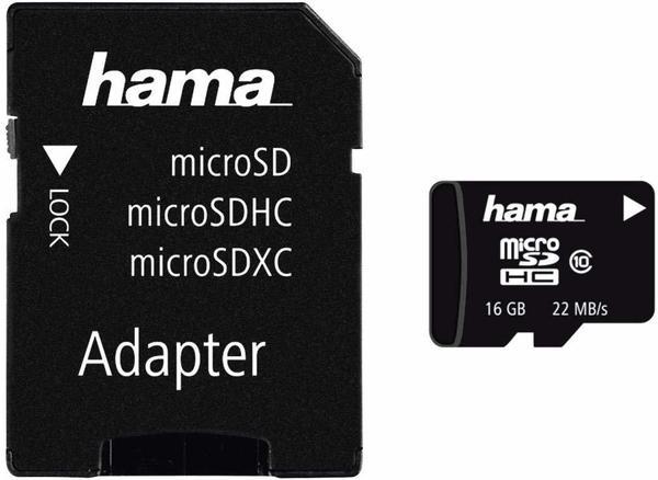 Hama microSDHC Klasse 10