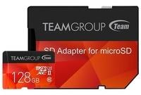 TEAM GROUP microSDXC Team XTreem 128GB Class 10 UHS-II + SD-Adapter