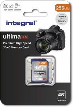 Integral Premium High Speed U3 V30 SDXC 256GB