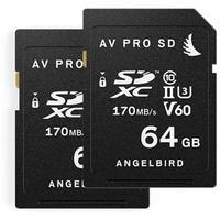 Angelbird SDHC 64GB Class 10 UHS-II V60 (2 St.)