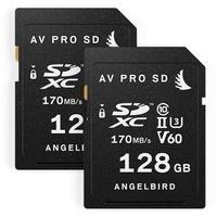 Angelbird SDXC AV Pro 128GB Class 10 UHS-II V60 (2 St.)