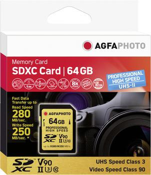 agfaphoto-sdxc-uhs-ii-64gb-professional-high-speed-u3-v90