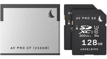 Angelbird Match pack for Canon C200 (1CF 256GB + 2SD 128GB)