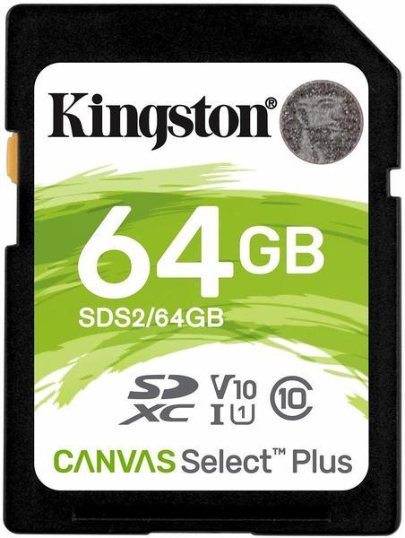 Kingston Canvas Select Plus SDXC 64GB