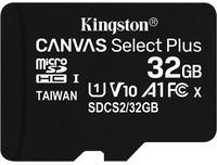 Kingston Canvas Select Plus microSDHC 32GB (Adapter)