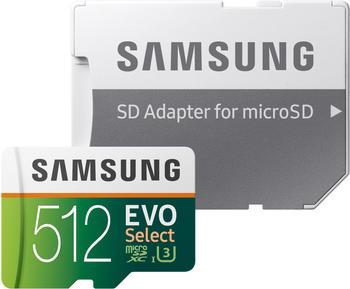 Samsung EVO Select microSDXC 512GB