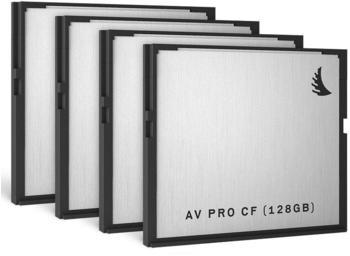 Angelbird AV PRO CF - 128GB (4 Pack)