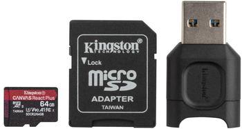 Kingston Canvas React Plus microSDXC 64GB